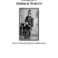 Proclamations of Emperor Norton