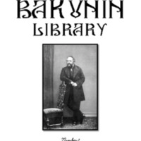Bulletin of the Bakunin Library 1