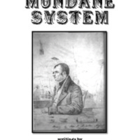 Principles of the Mundane System