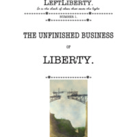 LeftLiberty 1: The Unfinished Business of Liberty